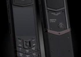 Vertu Signature S Design Full Black Ceramika