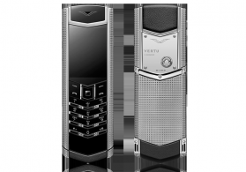 Vertu Signature Clouse De Paris Silver