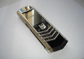 Vertu Signature S Design Silver Ultimate Ceramik&Alligator