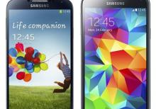 Samsung galaxy S4 ve S5 mini təzə