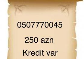 0507770045 250 azn