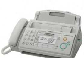 islenmis faks aparati